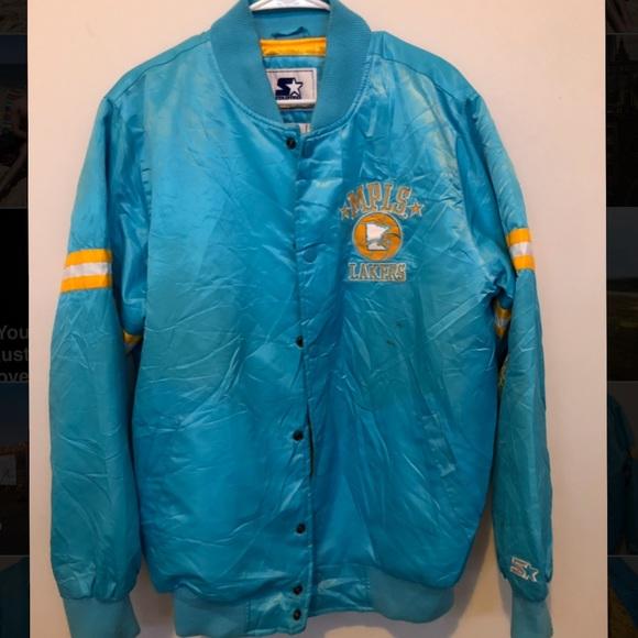 Nba Jackets Coats Vintage Nba Mpls Lakers Starter Jacket La Lakers Poshmark